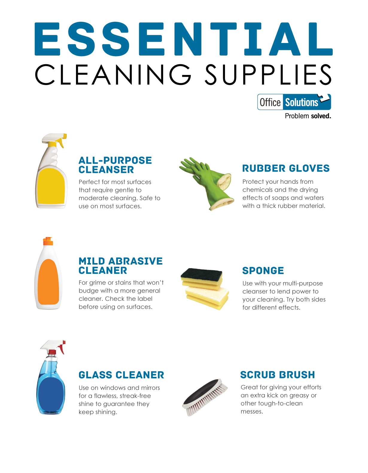 Bathroom cleaning items list for Bathroom cleaning supplies list